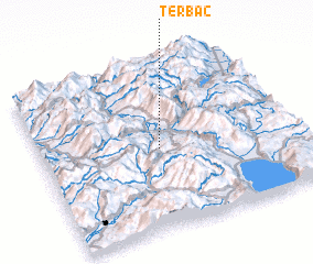 3d view of Tërbaç