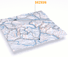 3d view of Deževa