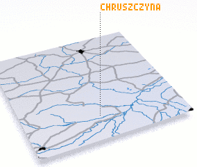 3d view of Chruszczyna
