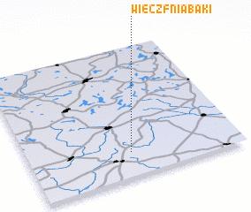 3d view of Wieczfnia Bąki