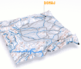 3d view of Domaj