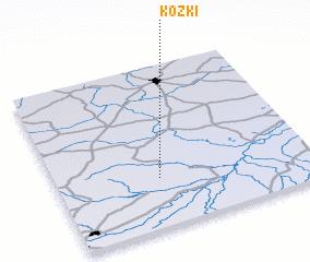 3d view of Kózki