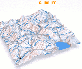 3d view of Gjinovec