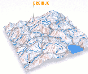 3d view of Brekijë