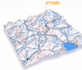 3d view of Otišani