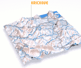 3d view of Kriçkovë