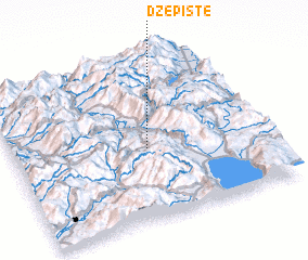 3d view of Džepište