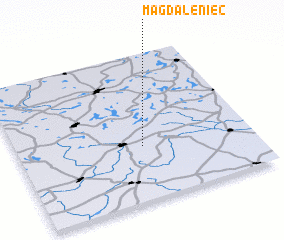 3d view of Magdaleniec
