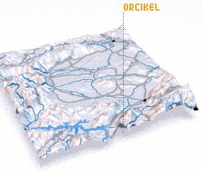 3d view of Orçikël