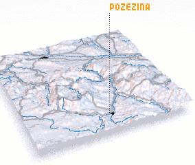 3d view of Požežina
