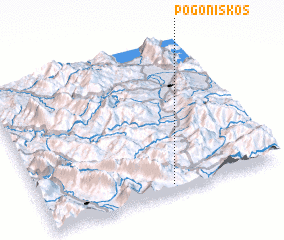 3d view of Pogonískos