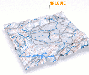 3d view of Malević