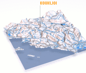 3d view of Kouklioí