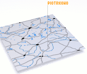3d view of Piotrkowo