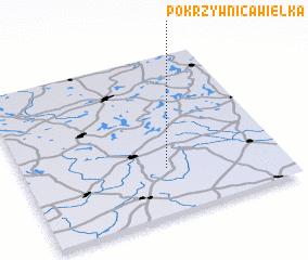 3d view of Pokrzywnica Wielka