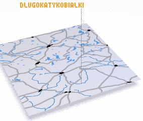 3d view of Długokąty Kobiałki