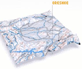3d view of Oreshkë