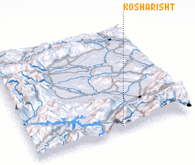 3d view of Kosharisht