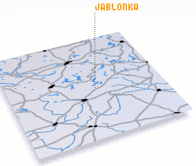 3d view of Jabłonka