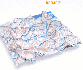 3d view of Bënjëz