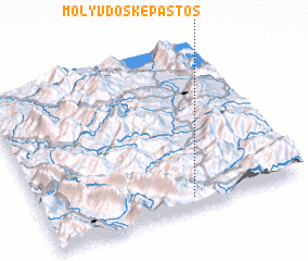 3d view of Molyvdosképastos