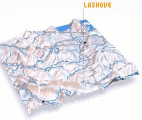 3d view of Lashovë
