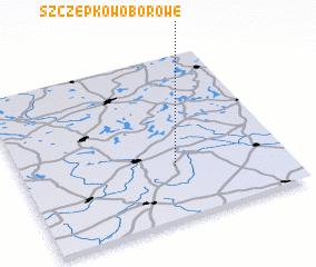3d view of Szczepkowo Borowe
