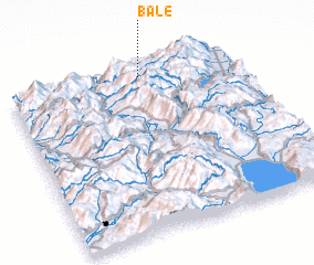 3d view of Balë