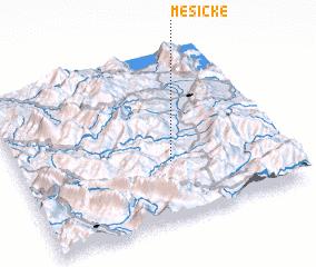 3d view of Mësiçkë
