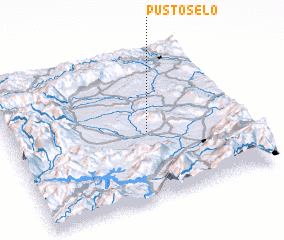 3d view of Pusto Selo
