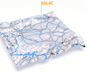 3d view of Dolac