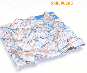 3d view of Sanjollas