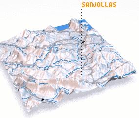 3d view of Sanjollas