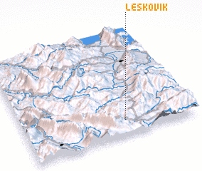 3d view of Leskovik
