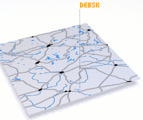 3d view of Dębsk