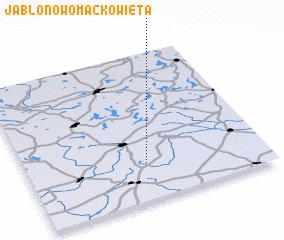 3d view of Jabłonowo Maćkowięta