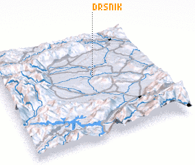 3d view of Drsnik