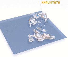 3d view of Khaliotáta