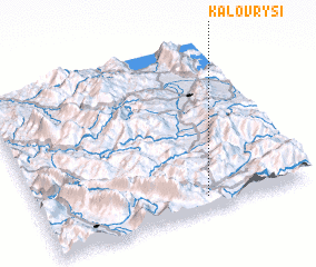 3d view of Kalóvrysi