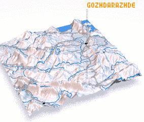 3d view of Gozhdarazhdë
