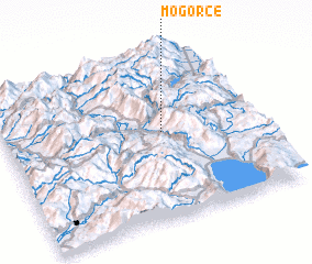 3d view of Mogorče