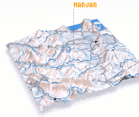 3d view of Marjan