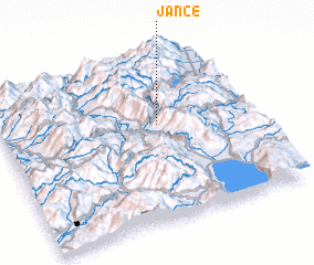 3d view of Janče
