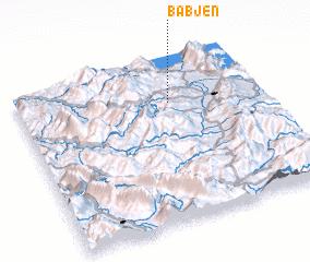 3d view of Babjen