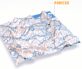 3d view of Pobickë