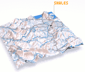 3d view of Shalës