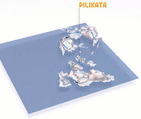 3d view of Pilikáta