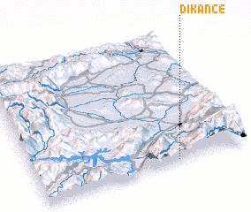 3d view of Dikance