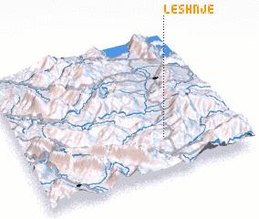 3d view of Leshnjë