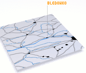 3d view of Błędówko